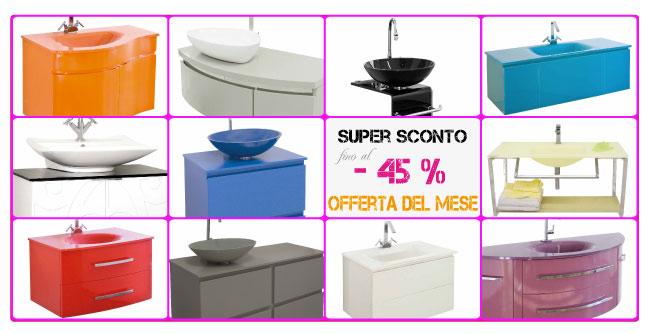 Arredo bagno on line vendita mobili bagno online for Mobili arredo online