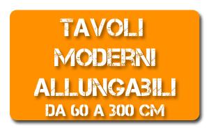 vendita tavoli moderni e tavoli allungabili on line | scopri le ... - Tavolo Da Cucina Allungabile Rettangolare